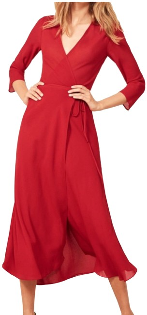 Item - Cherry Mid-length Night Out Dress Size 4 (S)