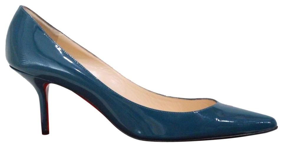 63249130cf4 Green Christian Louboutin Pumps - Up to 90% off at Tradesy