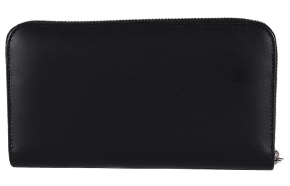 1d1c1b9e Fendi Black New Leather Forever Zip Around Ff Continental Wallet 36% off  retail