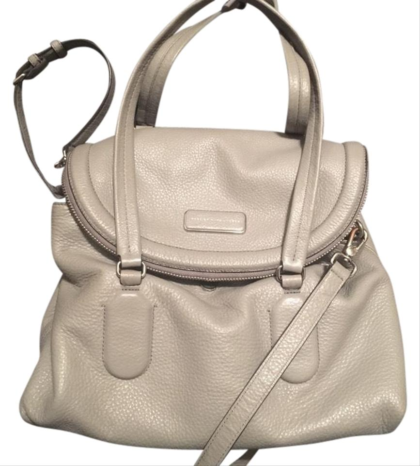 a125589899 Marc by Marc Jacobs Silicon Valley Satchel Storm Cloud Leather Cross ...