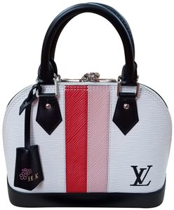 Louis Vuitton Leather Satchel in Multicolor