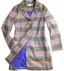 Boden Spring Jacket Linen Striped Canonbury Lining Trench Coat