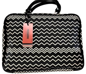 Missoni for Target Limited Edition Make Up New Black/Tan Travel Bag