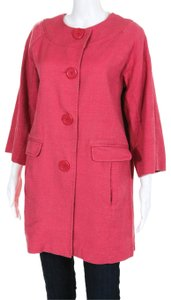 Boden Twill Swing Spring Jacket 3/4 Sleeve Trench Coat