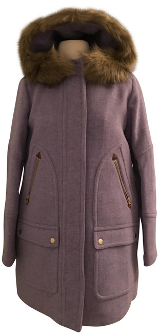Item - Heather French Purple Chateau Parka In Italian Stadium-cloth Coat Size 8 (M)