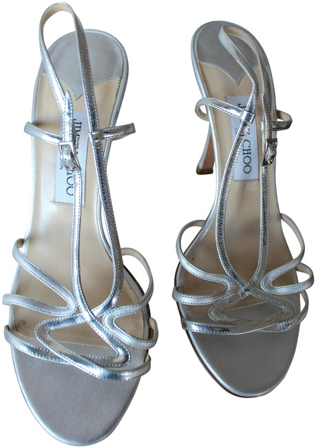 Item - Silver Formal Shoes Size EU 39 (Approx. US 9) Regular (M, B)