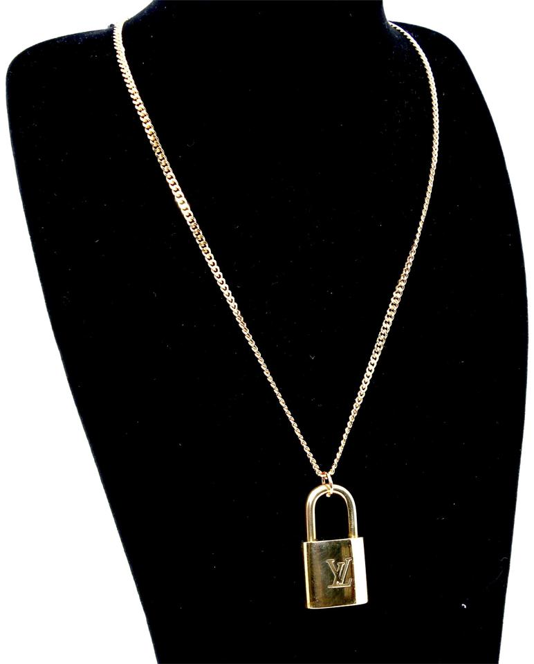 Louis Vuitton Gold 14k Plaquette Made In Italy Chain