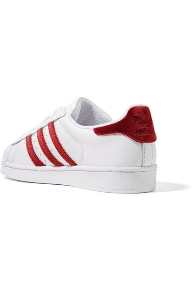 2c4040063124 adidas Red Velvet Navy Blue Satin and Gray W  Gold Superstar Shell ...