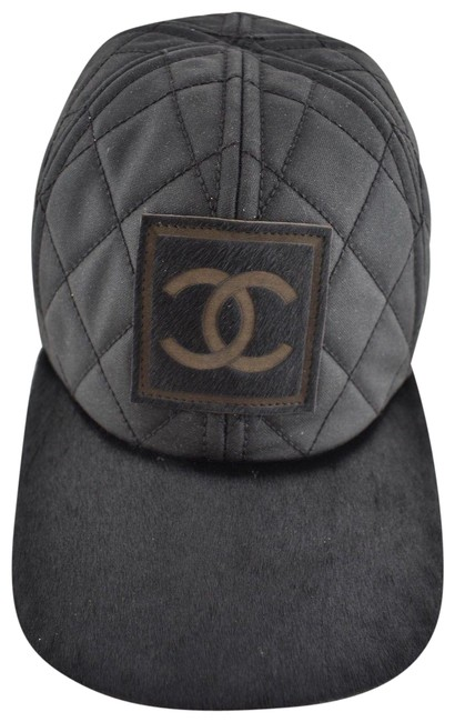 Item - Black Cc Quilted Baseball Hat