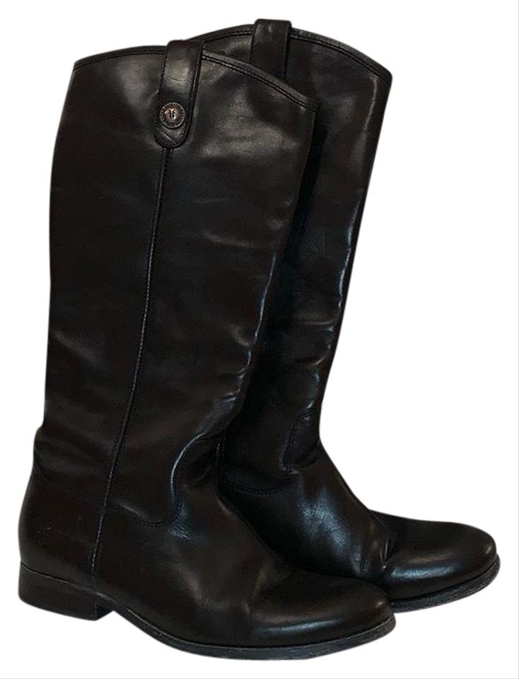145b254c3ab Frye Black Melissa Button Boots/Booties Size US 8.5 Regular (M, B) 56% off  retail