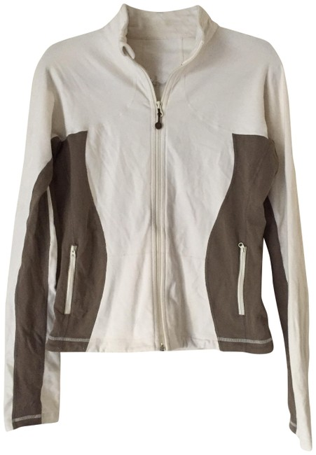 Item - White Work Out Activewear Outerwear Size 10 (M)
