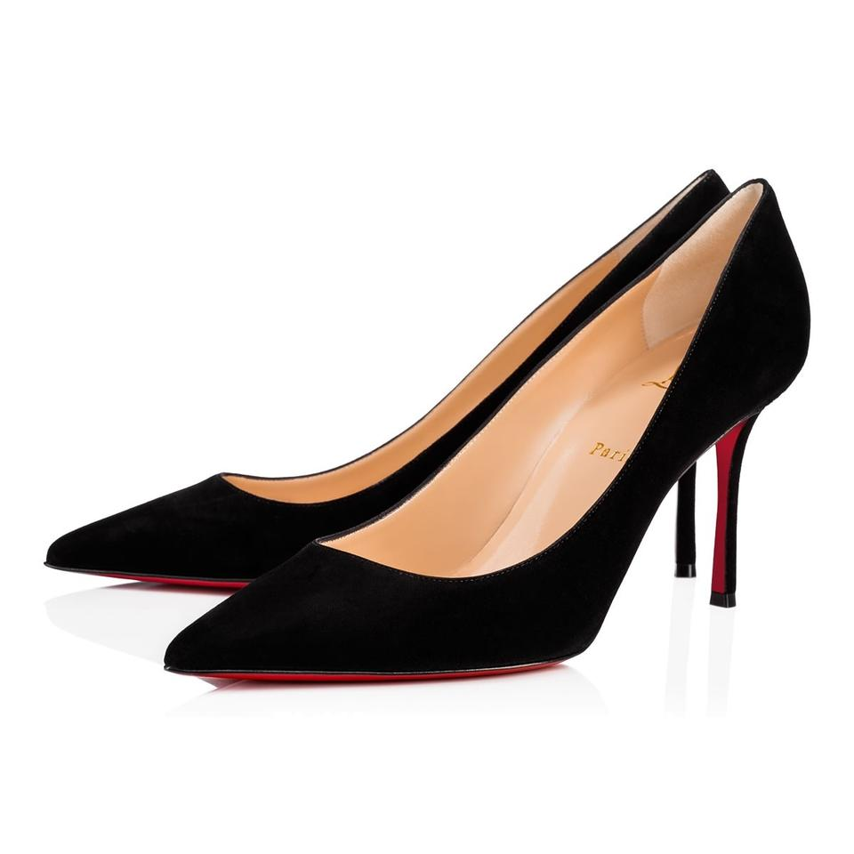 eb84ea133889 Christian Louboutin Decoltish Pigalle Stiletto Classic Suede black Pumps  Image 0 ...