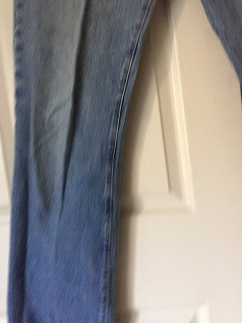 Levi's Blue Distressed 501 Vintage Button Fly Relaxed Fit Jeans Size 33 (10, M) Levi's Blue Distressed 501 Vintage Button Fly Relaxed Fit Jeans Size 33 (10, M) Image 6