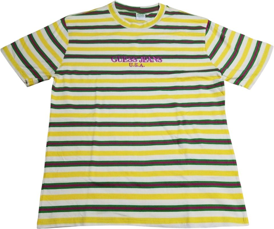 4ebb91d8f73 Guess Multiple Guess Sean Wotherspoon Tee Shirt Size 16 (XL