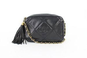 Chanel Camera Wallet On Chain Woc Classic Flap Cross Body Bag