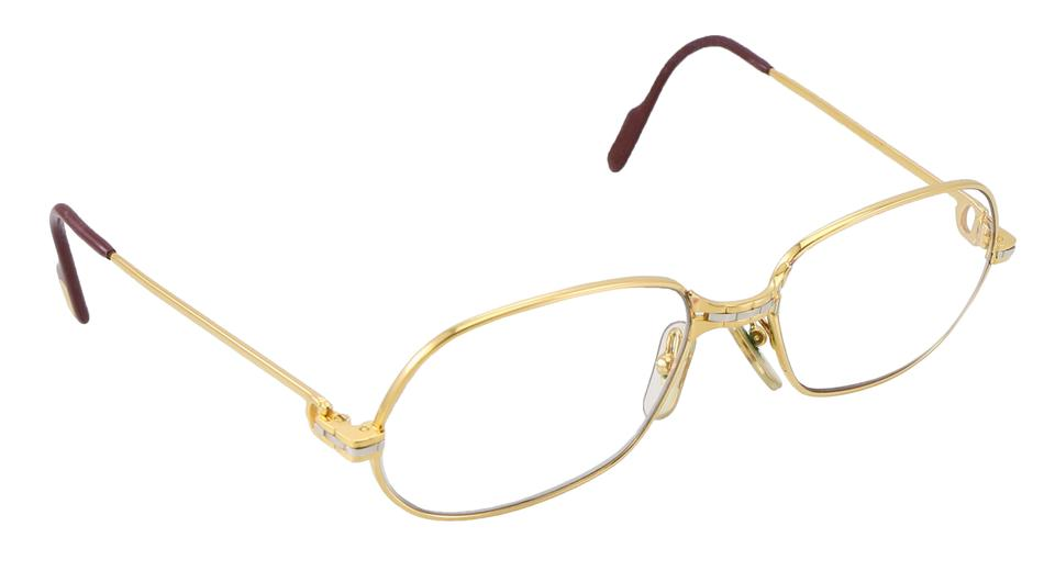 e4de539ed6cf6 Cartier Gold Vintage Logos Reading Glasses Eyewear Sunglasses - Tradesy