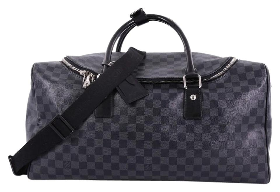 594f96ad39dd Louis Vuitton Roadster Handbag Damier Graphite Canvas Satchel - Tradesy