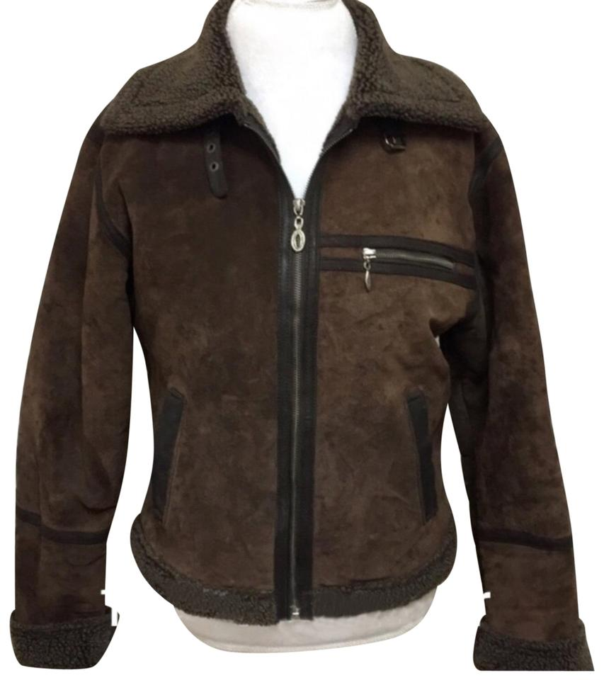 official images world-wide free shipping new & pre-owned designer Brown Jacket