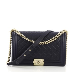 6d50095ff050 Blue Lambskin Leather Chanel Bags - 70% - 90% off at Tradesy