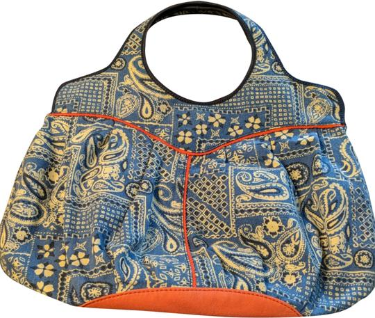 Preload https://img-static.tradesy.com/item/24776833/lucky-brand-extra-large-heavy-duty-blue-white-and-salmon-canvas-tote-0-1-540-540.jpg