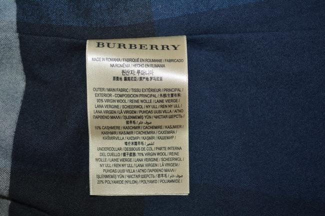 Burberry Mens Jacket Wool Double Breasted Trench Coat Image 10