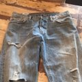 Levi's Boyfriend Cut Jeans-Distressed Image 1