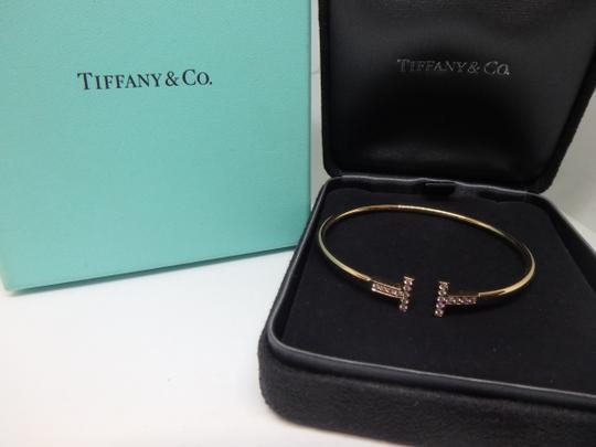 Tiffany & Co. T-Wire Diamond 18k Bracelet medium size Image 1