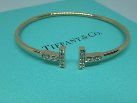 Tiffany & Co. T-Wire Diamond 18k Bracelet medium size Image 2
