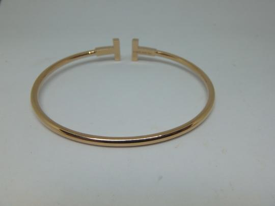 Tiffany & Co. T-Wire Diamond 18k Bracelet medium size Image 4