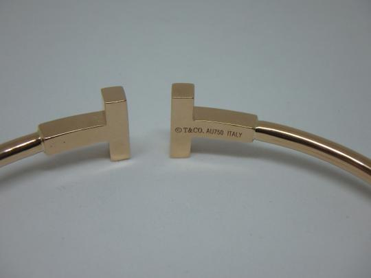 Tiffany & Co. T-Wire Diamond 18k Bracelet medium size Image 5