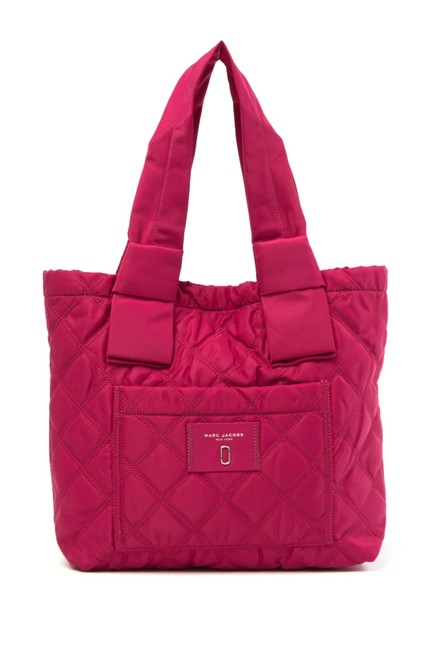 Item - Diamond Quilted Pink Polyester Tote