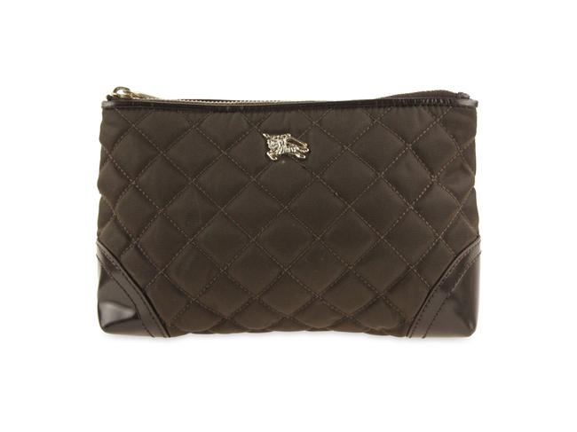 Item - Cosmetic Pouch Brown Nylon Weekend/Travel Bag