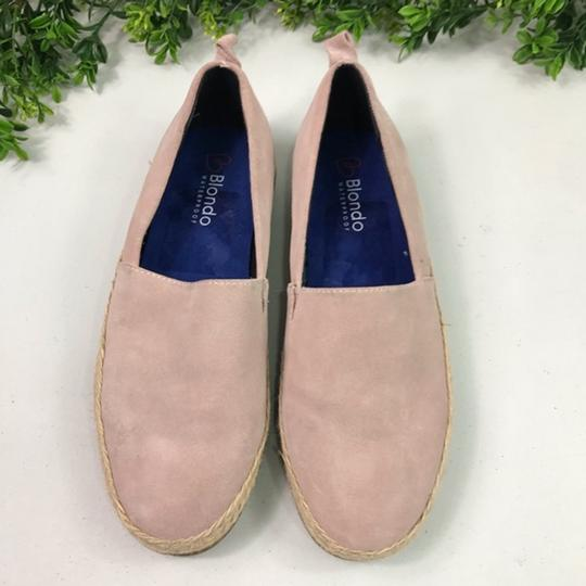 Blondo Pink/Cream Flats Image 1