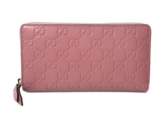 Preload https://img-static.tradesy.com/item/24777148/gucci-pink-women-s-410105-leather-gg-guccissima-continental-wallet-0-0-540-540.jpg