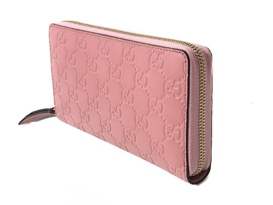 Gucci NEW GUCCI Women's 410105 Leather GG Guccissima Continental Wallet Image 1