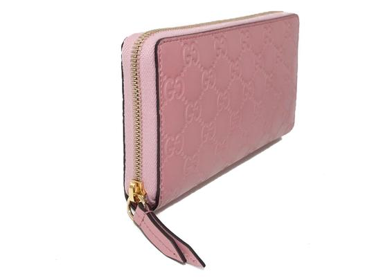 Gucci NEW GUCCI Women's 410105 Leather GG Guccissima Continental Wallet Image 11
