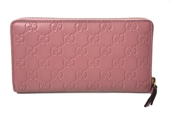 Gucci NEW GUCCI Women's 410105 Leather GG Guccissima Continental Wallet Image 2