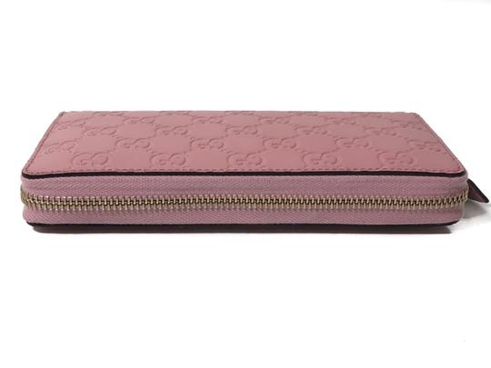 Gucci NEW GUCCI Women's 410105 Leather GG Guccissima Continental Wallet Image 6