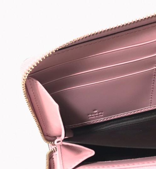 Gucci NEW GUCCI Women's 410105 Leather GG Guccissima Continental Wallet Image 9