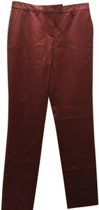 Christopher Kane Trouser Pants Oxblood