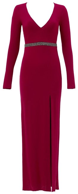 Preload https://img-static.tradesy.com/item/24777294/nicole-miller-berry-red-gown-long-formal-dress-size-0-xs-0-1-650-650.jpg