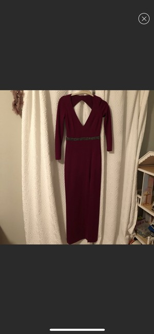 Nicole Miller Rent The Runway Rtr Gown Dress Image 2