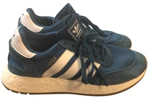 adidas Petrol Night/Cloud White/Gum soles Athletic