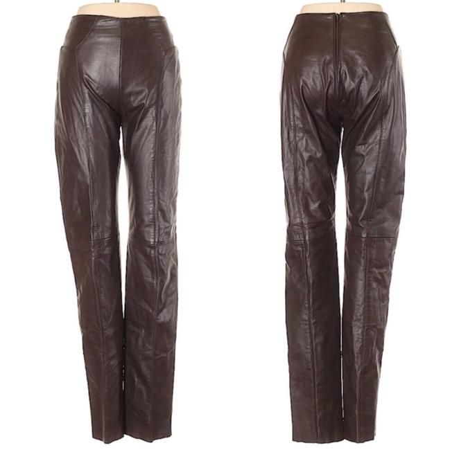 Preload https://img-static.tradesy.com/item/24777703/brown-leather-straight-pants-size-6-s-28-0-0-650-650.jpg