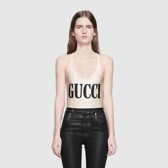 Gucci NEW Gucci Sparkling Swimsuit White One Piece Small Image 1