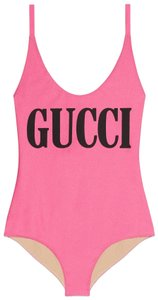 Gucci NEW Gucci Sparkling Swimsuit Pink One Piece SMALL