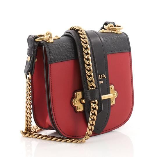 Prada Shoulderbag Leather Cross Body Bag