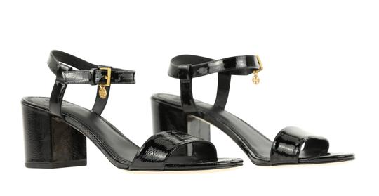 Tory Burch Velour Black Sandals Image 1
