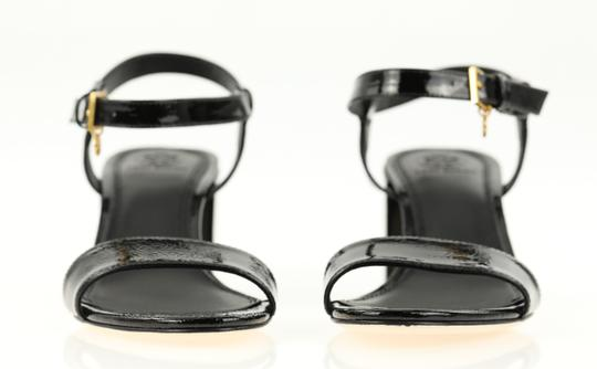 Tory Burch Velour Black Sandals Image 5