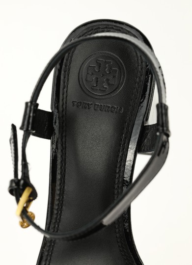 Tory Burch Velour Black Sandals Image 8